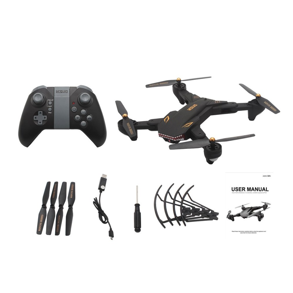 XS809S RC Drone Wifi FPV Selfie Camera Altitude Hold Foldable Headless Mode One Key Return 3D Flip QuadcopterXS809S RC Drone Wifi FPV Selfie Camera Altitude Hold Foldable Headless Mode One Key Return 3D Flip Quadcopter