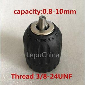 0.8-10mm keyless drill chuck t