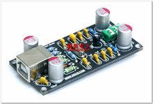 تجميعها PCM2704 USB كارت الصوت HIFI USB DAC بطاقة
