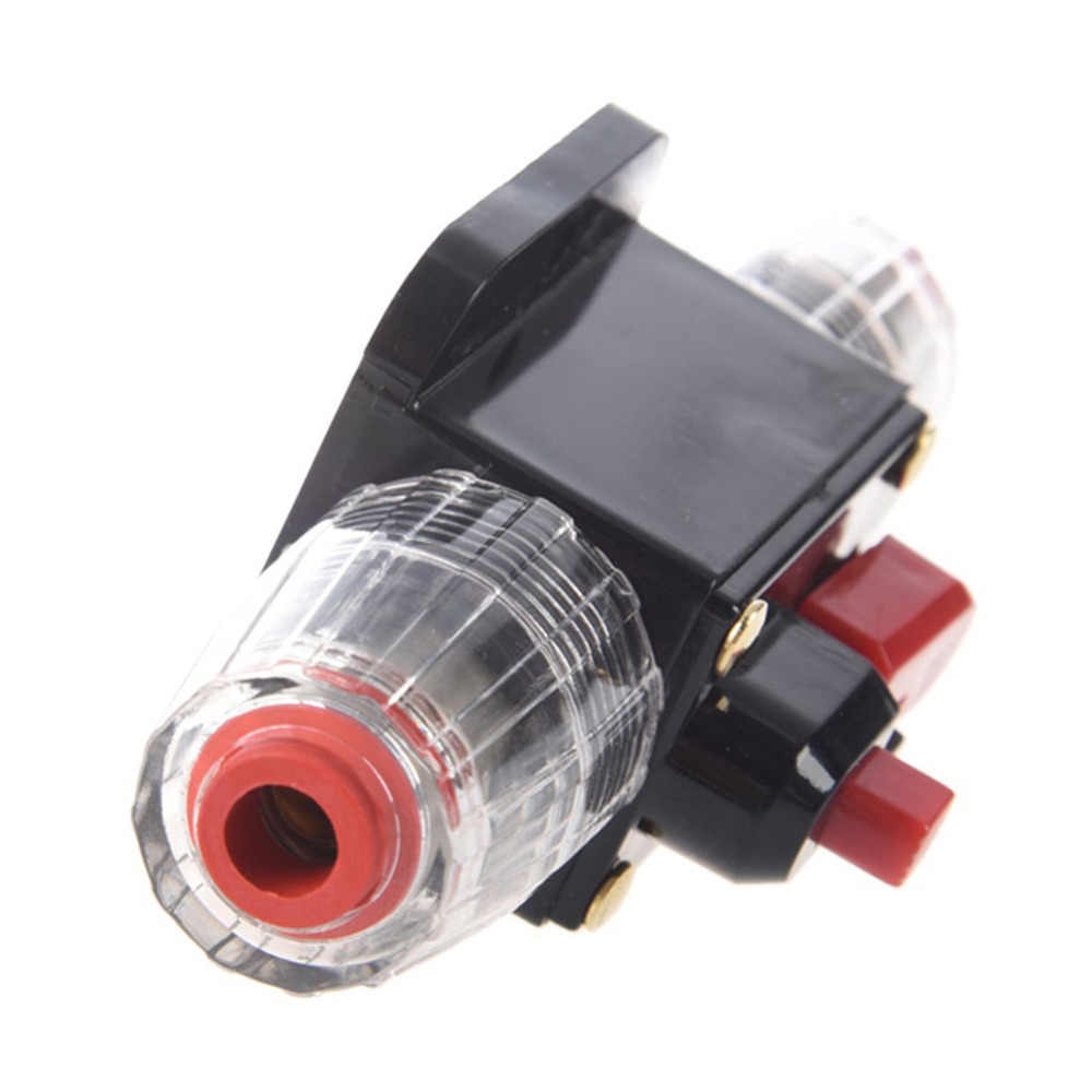 car auto accessory dc 12v 100 amp audio stereo circuit breaker manual reset replace fuse holder  [ 1000 x 1000 Pixel ]