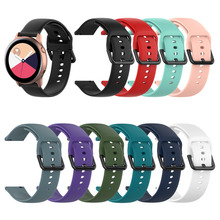Breathable Waterproof Smart Accessories Strap For Samsung Galaxy Watch Active R500 Silicone Replacement 1eh
