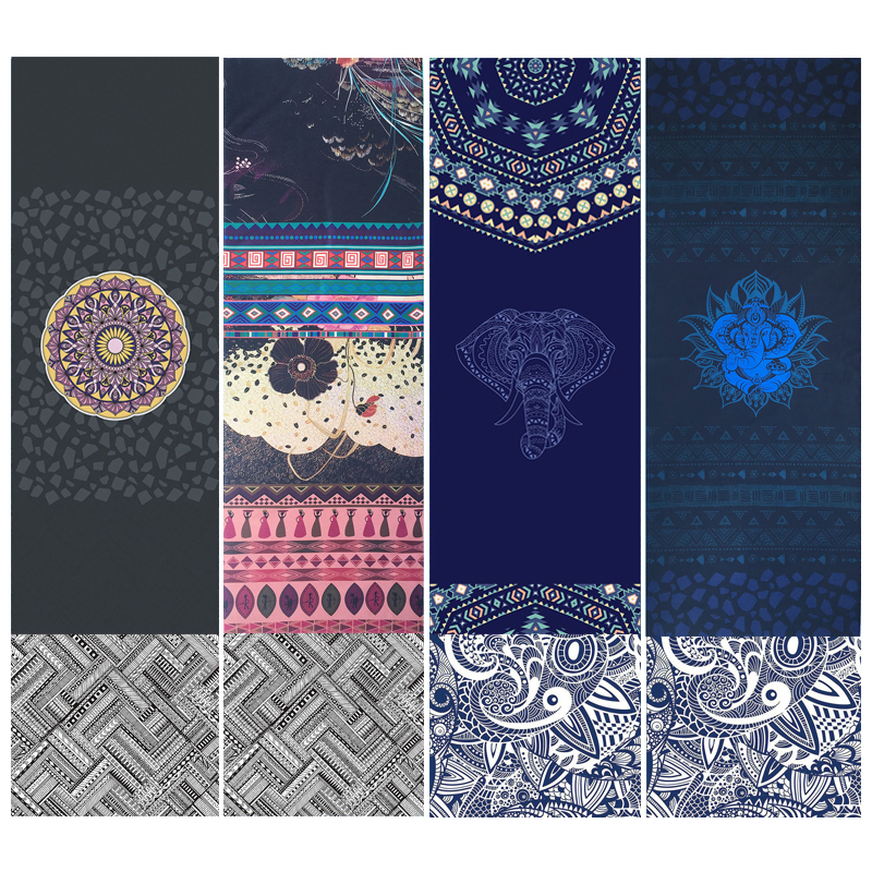 La Fitness With Towel Service: New Arrival Yoga Mat Towel Outdoor Sports Fitness Non Slip