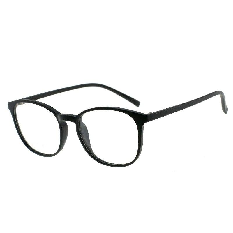Logorela Eyeglass Frame TR90 Myopia Spectacles Round Frame Retro Spectacle Frame Spectacle Frames