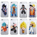 Manga Comics Dragon Ball Saiyan Goku Vegetto Gohan Soft Phone Case Fundas Coque For iPhone 7 7Plus 6 6S 8 8PLUS X XS Max SAMSUNG