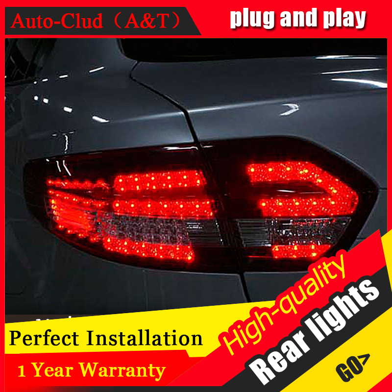 Auto Clud Car Styling for Renault Fluence LED Taillights 2010-2014 Almera SM3 Tail Lamp Rear Lamp DRL+Brake+Park+Signal led ligh car styling for renault fluence sm3 led tail lights 2011 2013 fluence tail lights rear trunk lamp cover drl signal brake reverse