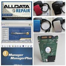 Mejor precio del alldata v10.53 software de la reparación auto del alldata y mitchell ondemand 2015 + mitchell manager plus 1 tb hdd remoto instalar