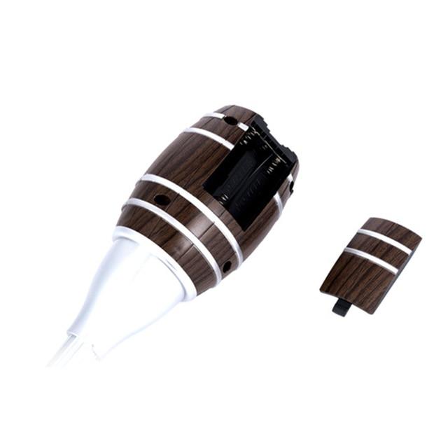 Top quality Barrel Shaped Wine Pourers Decanter Electric Cider Pump Aerator Pourer Design Wine Juice Bottle Drinks for parties 5