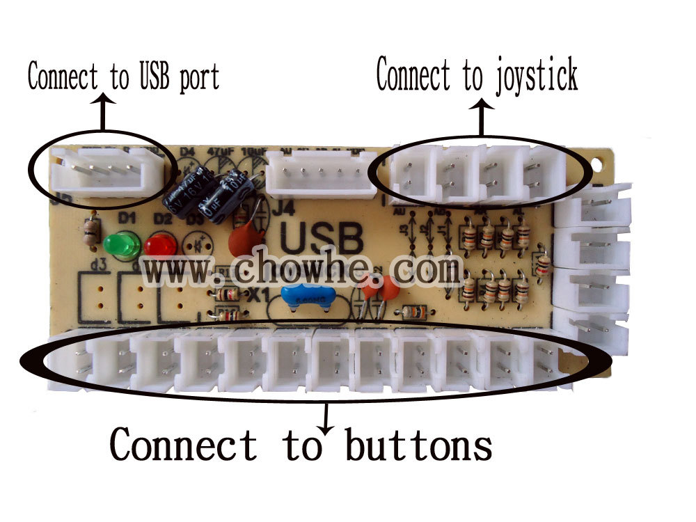 Usb arcade wiring wiring diagram free shipping 1 kit of single player pc joystick pcb usb joystick rh aliexpress com usb connector wiring usb to serial wiring diagram asfbconference2016 Images