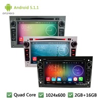 Android 4 4 4 HD 1024 600 Quad Core 16GB Car DVD Player Radio GPS Stereo