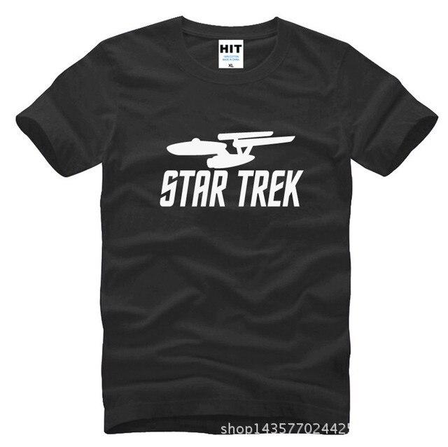 Star Wars Star trek impreso Mens hombres T Shirt camiseta de moda 2015 nueva manga corta cuello O camiseta de algodón Tee Camisetas Hombre