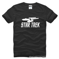 Star Wars Star Trek Printed Mens Men T Shirt Tshirt Fashion 2015 New Short Sleeve O