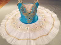 Ballet Tutu Dresses Adults Professional Gymnastics Leotard Swan Lake Dance Clothes For Girls Pancake Children Ballerina