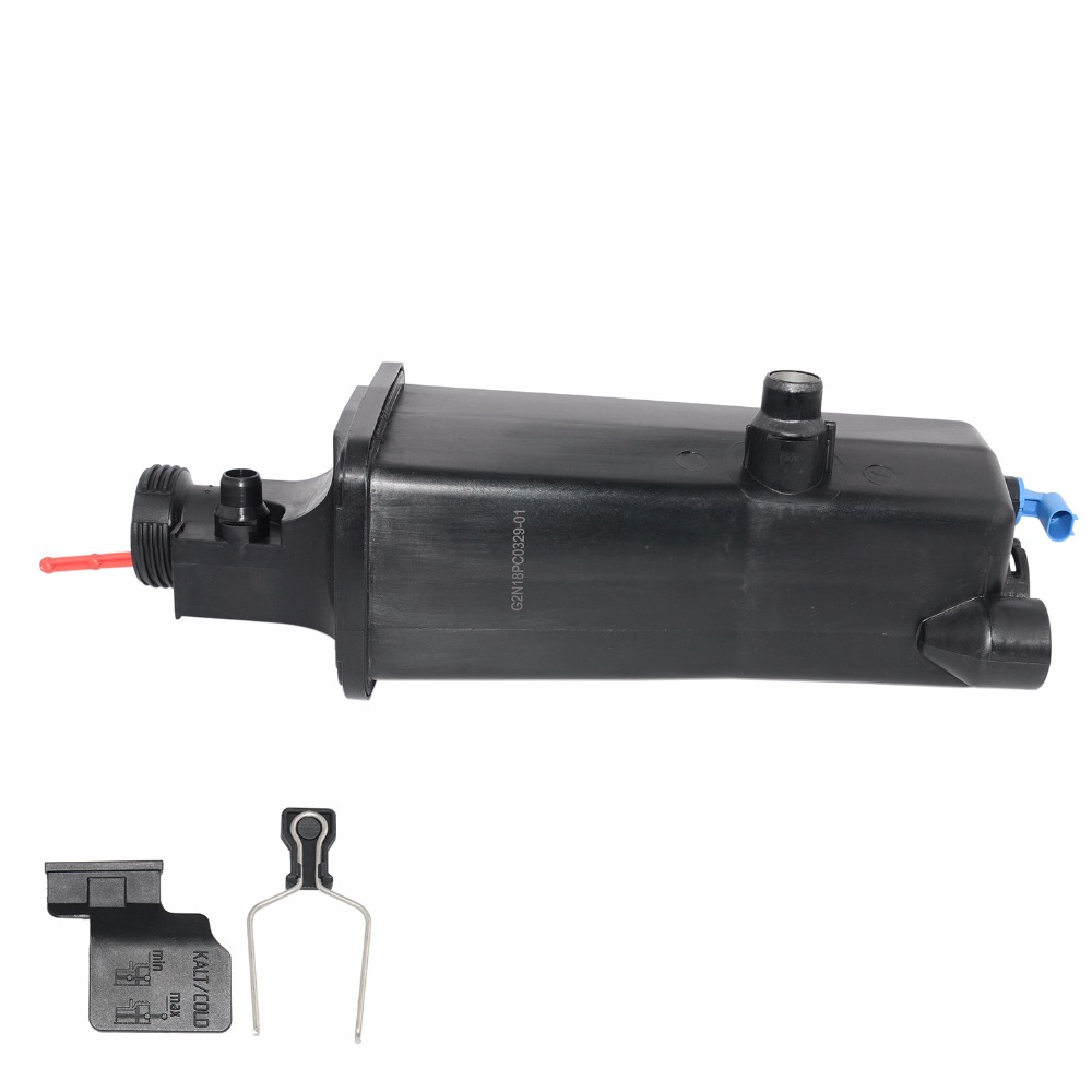 AP03 FOR BMW 3 SER <font><b>E46</b></font> X3 E83, X5 E53 Z4 1998-2008 EXPANSION COOLANT TANK WITH SENSOR image