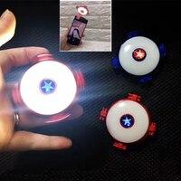 9 Light Effects Fidget Spinner Mobile Phone Photo LED Fill Light Flash Light Hand Finger Spinner