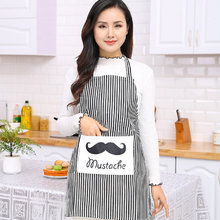 British style linen apron creative fashion womens housewear kitchen cleaning household