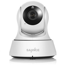 SANNCE Home Security IP Camera Wi-Fi Wireless Mini Network Camera Surveillance Wifi 720P Night Vision CCTV Camera Baby Monitor