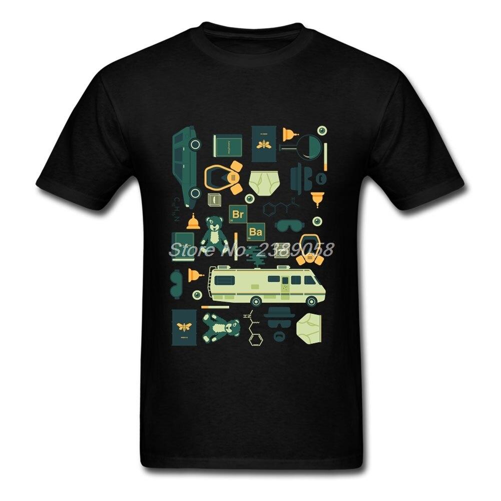 Breaking Bad tshirts Men Short Sleeve Vintage Harajuku Tee   Shirts   Casual Man   T  -  Shirt   Camisetas