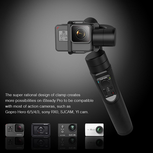Image 4 - Hohem iSteady Pro 2 Mobile Plus 3 Axis Phone Gopro Gimbal for Gopro Hero 6 5 SJCAM Stabilizer for iPhone Andriod