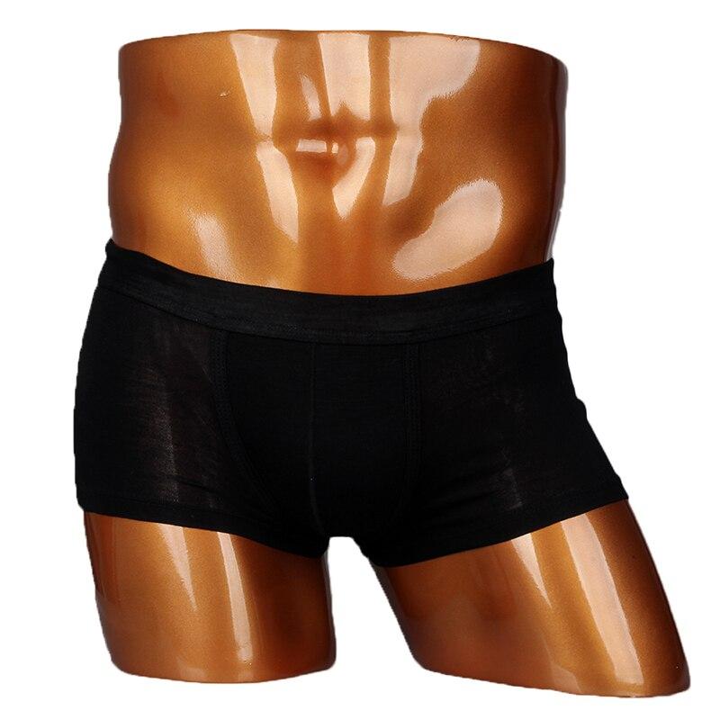 Men Mesh Boxers Compression Comfortable Stretchable Mens Pouch Trunk Underwear L XL 2XL 8-Color Wholesale