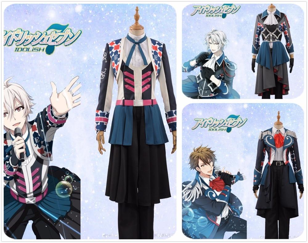 IDOLiSH7 Trigger Kujo Tenn & Yaotome Gaku & Tsunashi Ryunosuke The Third Prayer Stage Fashion Cosplay Costume Adult MEN WOMEN