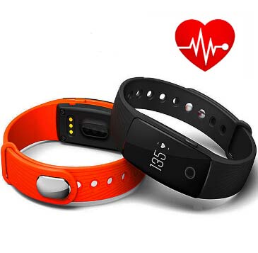 Smart Band ID107 Fitness Bracelet heart rate monitor Smart Wristband Activity Tracker for iOS Android phone