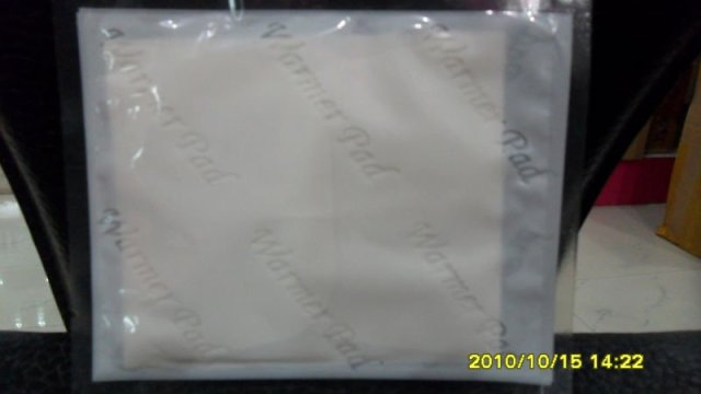 auto heating non-woven warmer pad for body