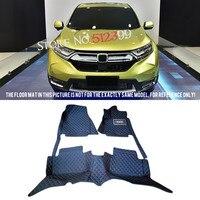 Custom Fit Car Floor Mats Foot Mat Pad artificial leather 1 set for Honda CRV CR V 2017 2018 Car Accessories Styling