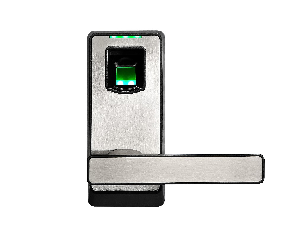 Free Shipping PL10 Fingerprint Door Lock with Mechanical Key