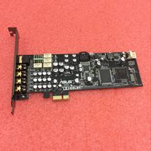 Asus Xonar DX Built-in 7.1 Sound Card PCI-E Half-High DTS Dolby Surround HIFI Sound Card 90%new(China)