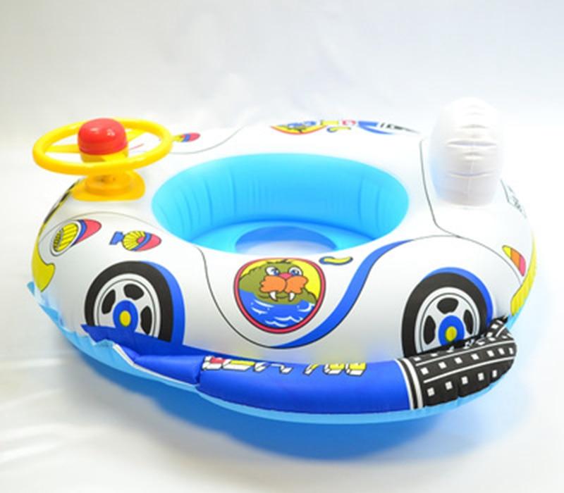 Baby Kids Summer Swimming Pool Swimming Ring Inflatable Swan Swim Float Water Fun Pool Toys Swim Ring Seat Boat Sport for 3-6Y (30)
