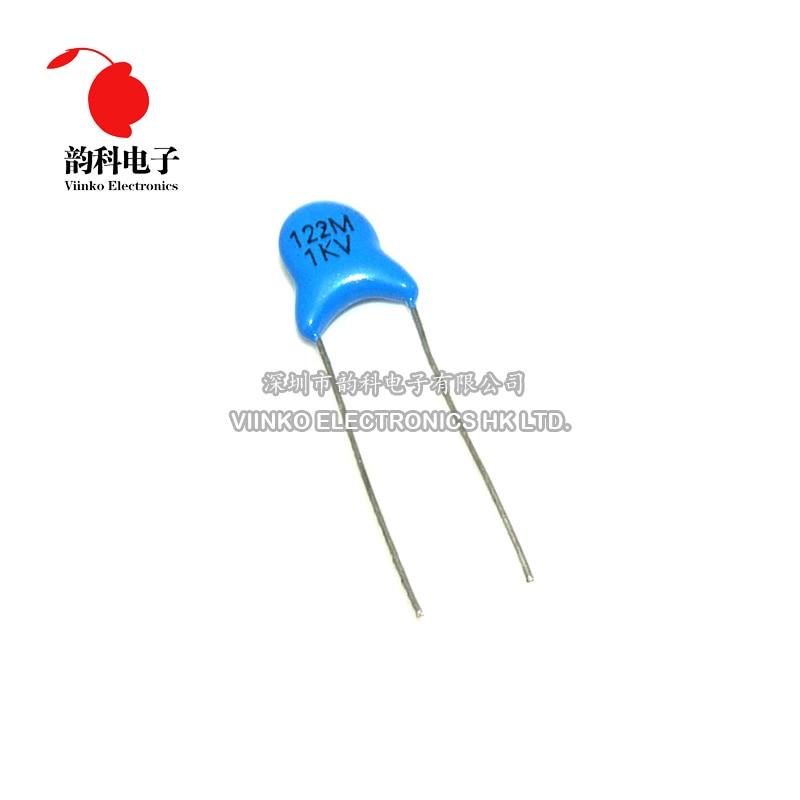 Ceramic Capacitor 27pF 1000V 1KV Long Leads NOS Qty 50