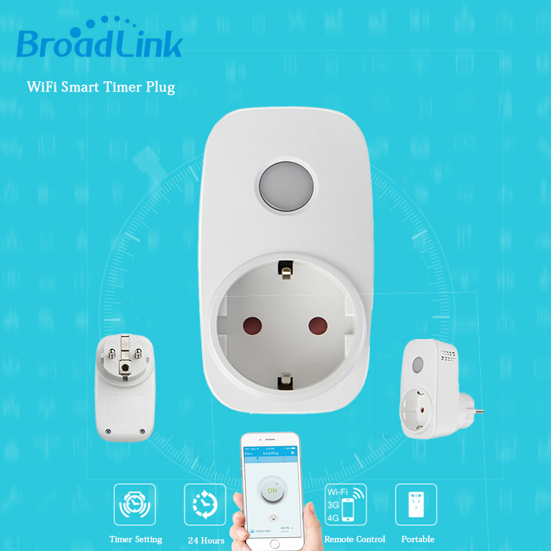 Broadlink SP3 eu/Contros Smart Wireless WiFi Steckdose 16A 3500 watt remote Power Supply Stecker IOS Android Fernbedienung