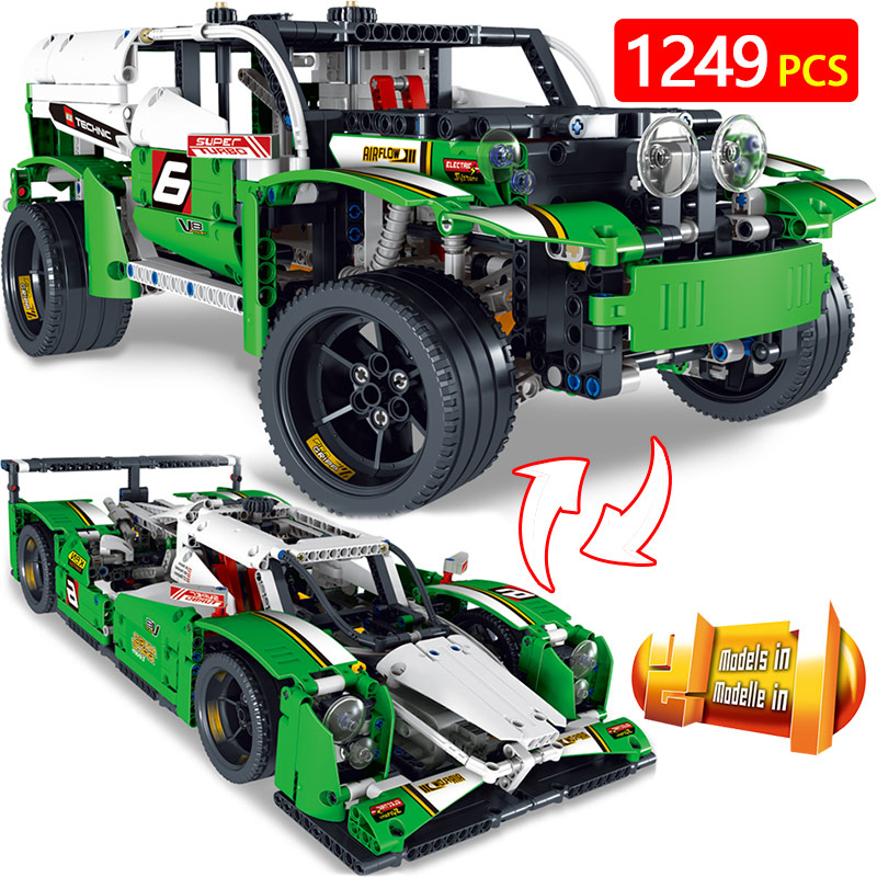 Hot LegoINGLYS vehicle Technic Series Technical Figures Equation Race Car Modle Building Blocks Educational Toys For Children 2 in 1 rc car compatible legoinglys radio technical vehicle green suv control blocks assembled blocks children toys gift
