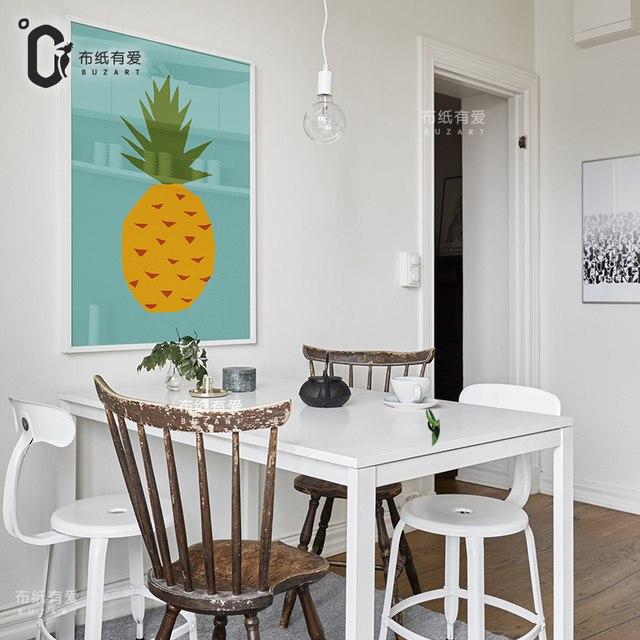 Sandía Cuadros Decorativos Para Cocina Lienzo Arte De La Pared Decoración  Del Cartel Decoración Del Hogar Pinturas No Marcos