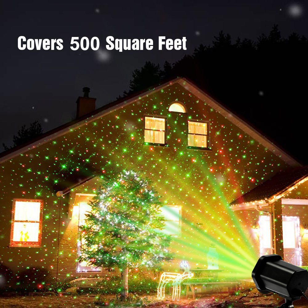 fvtled led projector laser lights 6w red green christmas laser lamp with rf remote for party ktv wedding night club decoration in led lawn lamps from
