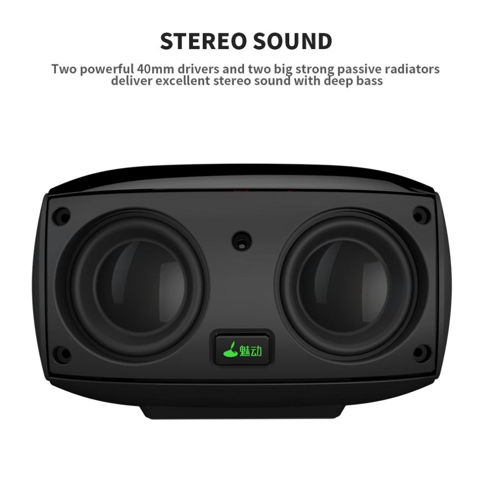 Meidong MD-5110 Tragbare Bluetooth lautsprecher Tragbare Drahtlose Lautsprecher Sound System stereo Musik surround touch mini Lautsprecher