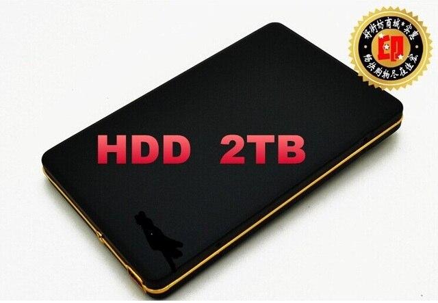 """Новый 2017 Жесткий диск 1 ТБ 2 ТБ hdd 2.5 """"2.0 Портативный 500 Г USB Жесткий Диск HDD Черный Внешний Жесткий Диск, 3 Год гигантские бесплатная доставка"""