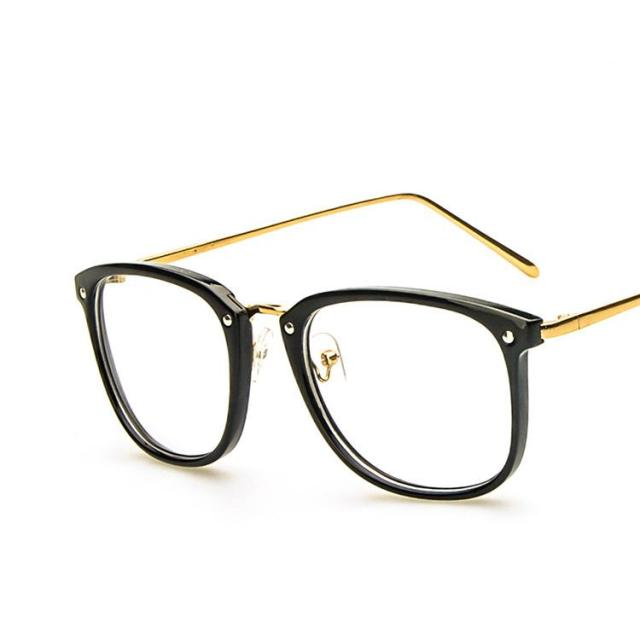 299dd583f09 2017 Fashion Brand Eyeglass Frames Women  s Oversized Glasses Frame Women  Man Cat Eye Big Metal Round Vintage Glass Frames Tags