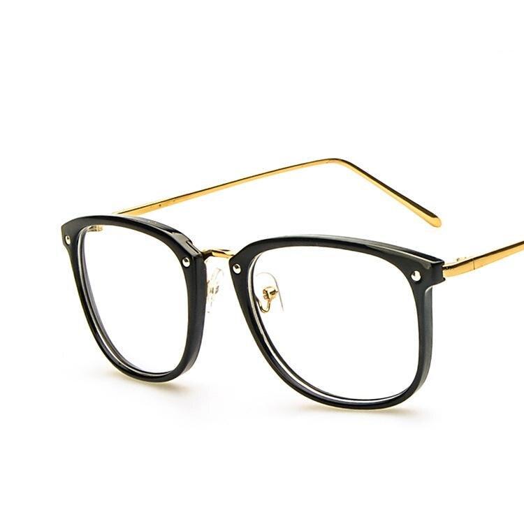 2017 fashion brand eyeglass frames womens oversized glasses frame women man cat eye