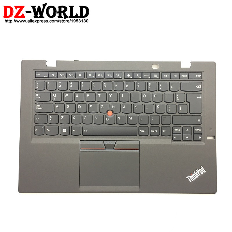 New/Orig for Thinkpad X1 Carbon 3rd TYPE: 20BS 20BT Latin American Spanish Backlit Keyboard w/ Palmrest Touchpad 00HN948 00HT303 new original for lenovo thinkpad latin american spanish usb keyboard sk 8855 compatible with all laptop computer models 03x8475