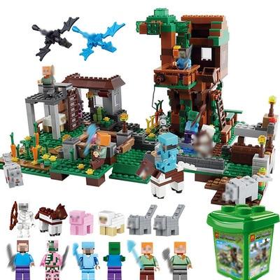 0534 Building Blocks Castle Kids Toys Gift Compatible Legoe City Building Blocks For Boy Girl altair city boy 18 2016 white red