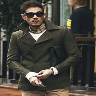 Popular Mens Green Wool Coat-Buy Cheap Mens Green Wool Coat lots ...