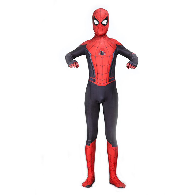 Kids Adult Game Bodysuit printing Spider-Man: Far From Home Siamese Tights Cosplay Halloween Cosplay Costum Jumpsuits