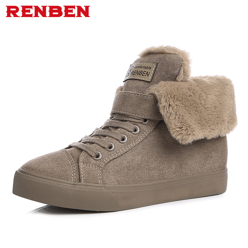 women winter shoes women's ankle boots the new black gray khaki color fashion casual fashion flat warm woman snow boots serene handmade winter warm socks boots fashion british style leather retro tooling ankle men shoes size38 44 snow male footwear