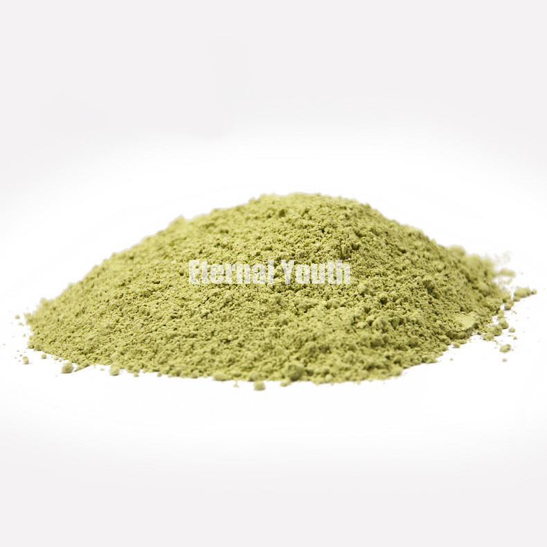 1 kg minéral vert thé boue blanchissant hydratant à jaune foncé Detox 1000g soins de la peau