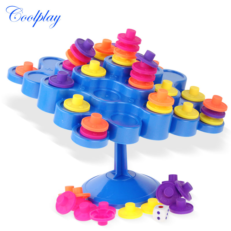 Topple Balance Game Dont Let Topple Topple As You Try To Score Points Kids Children Great Family Activity Board Game
