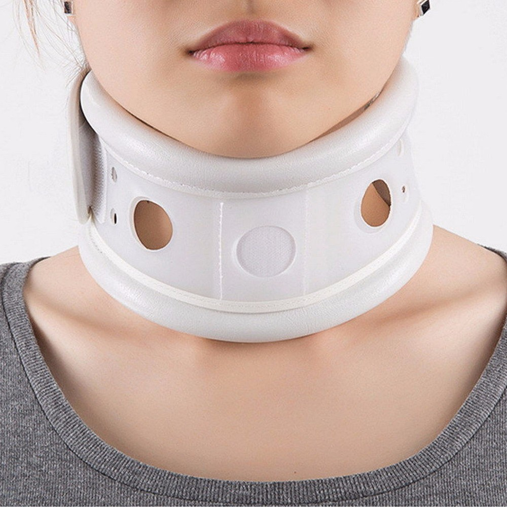 YihCare Neck Brace Cervical Collar Soft Neck Support Cervical Brace Fixing Band Collar Traction Pain Relieve Neck Messager neck cervical traction collar device brace support hard plastic for headache neck pain hight adjustable one size fit most