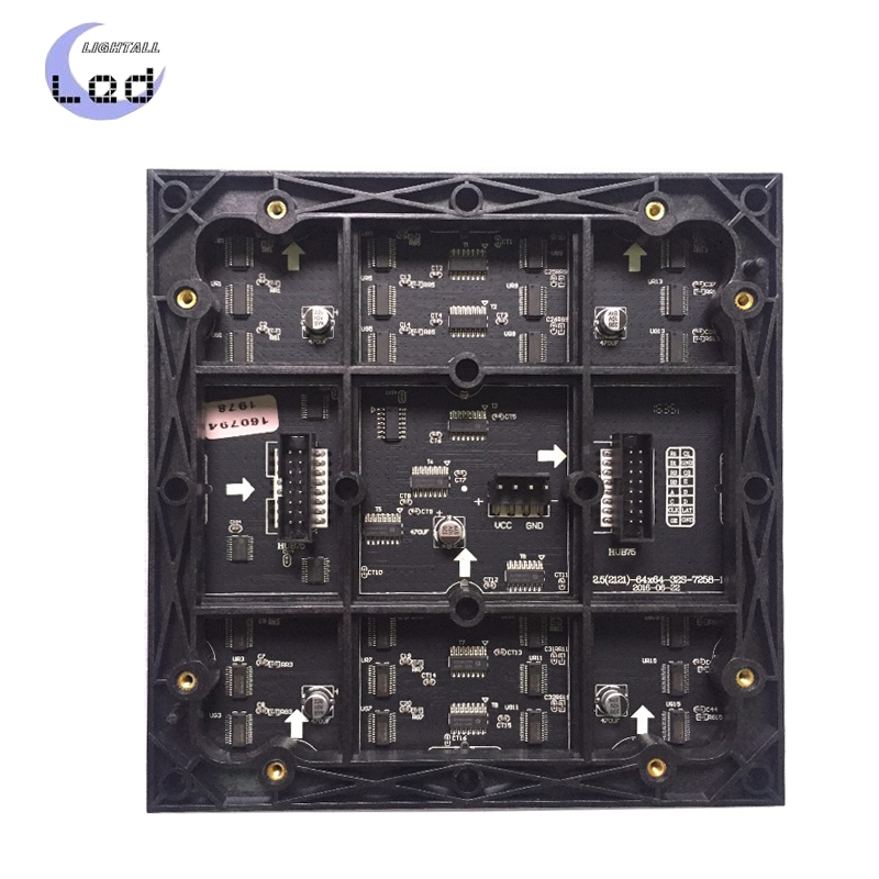 P2.5 Indoor 160*160mm 64*64 Pixels Led Panel Display Module SMD2121 RGB Full Color Video Board Led Screen