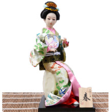 home decoration accessories feng shui crafts japanese geisha dolls feng shui Crafts dai yutang best selling home office feng shui ornaments ceramic buddha 12 inch maitreya d06 68