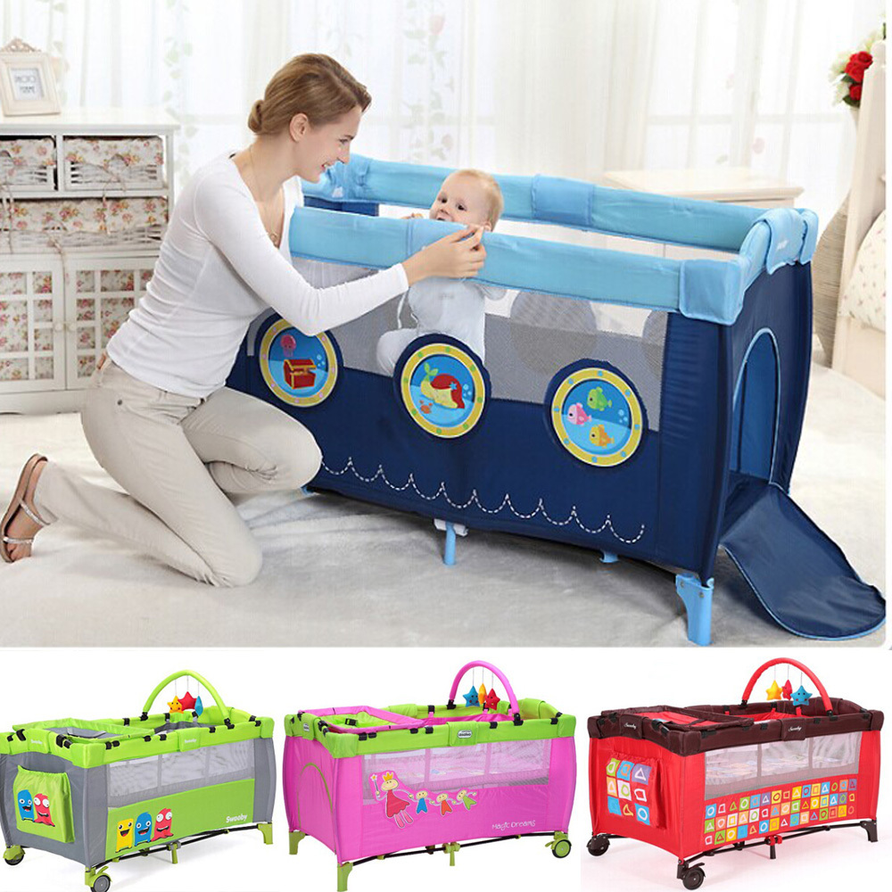 Baby bed portable - Aliexpress Com Buy Fashion Portable Baby Bed Crib Baby Bed Multifunctional Hipseat Travel Bassinet Baby Bedding Game Bed Folding Crib Bb Bed Bb Car From